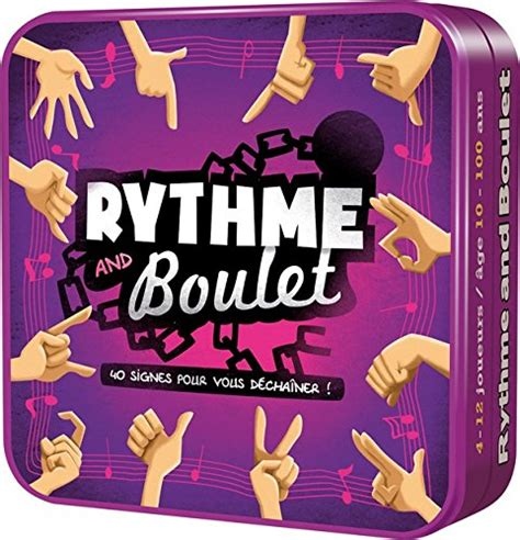 Asmodee Rythm And Boulet asmodee cgrnb01 rythme and boulet la caverne du jouet