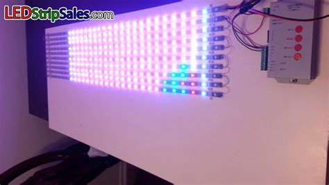programmable led light strips ws2812b ws2811 ic 5v rgb magic color series programmable led lights project show
