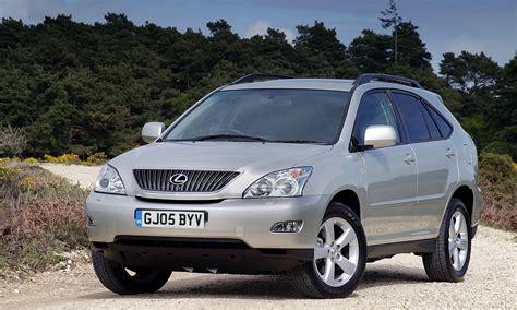 lexus rx 2003 lexus rx estate review 2003 2009 parkers