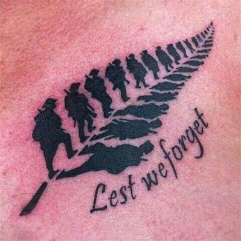 lest we forget tattoo lest we forget s ink we and