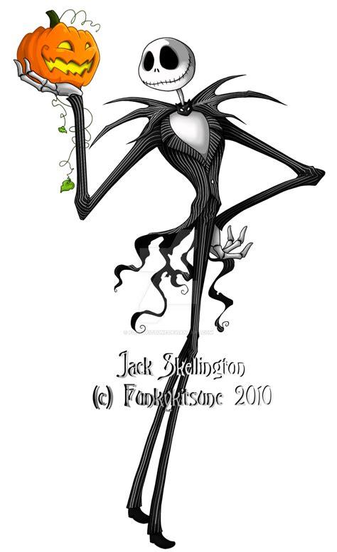 imagenes de jack tim burton jack skellington by funkykitsune on deviantart