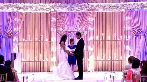 Interfaith Hindu and Christian wedding (Floral and Decor