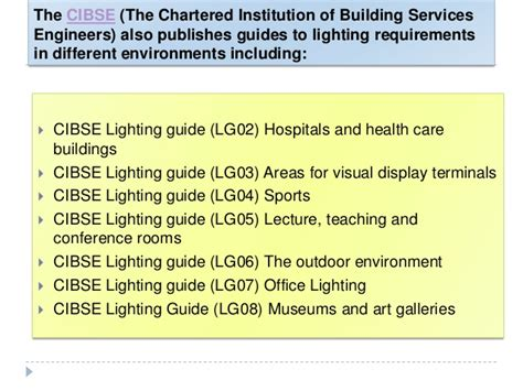 Cibse Code For Interior Lighting Free by Led Lighting Cibse Code For Interior Lighting 1994