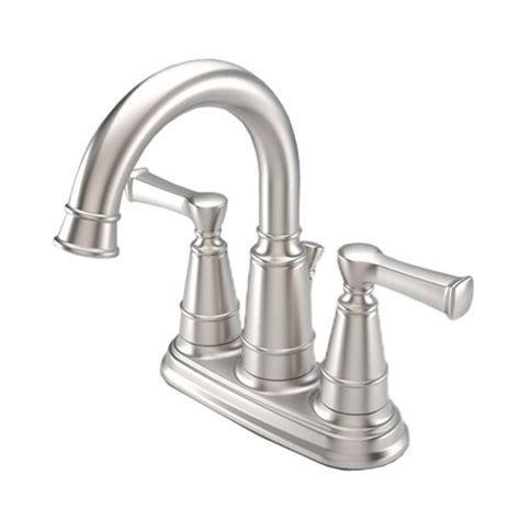 aquasource bathtub faucet new aquasource brushed nickel 2 handles watersense
