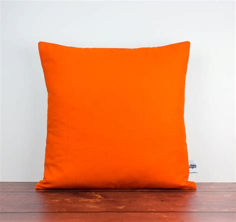 orange pillows for couch orange cushions orange pillow orange throw pillow orange