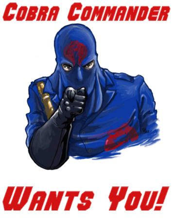 Cobra Commander Meme - the marvelous marshal handbook