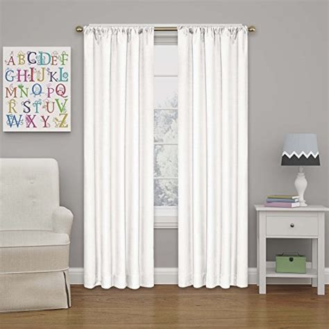 blackout curtains 95 eclipse kendall blackout curtain 95 white 2016