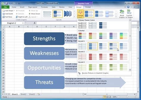 how to create a swot analysis powerpoint presentation