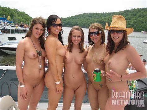 Naked Chicks On A Boat Picture Of