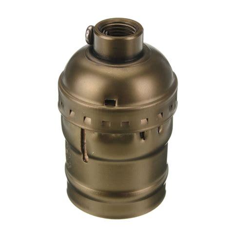 e27 edison retro antique pendant l bulb holder socket