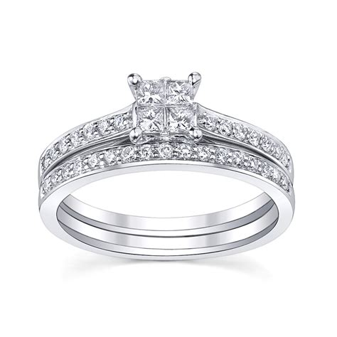 Wedding Sets by Bridal Sets Princess Cut Bridal Sets