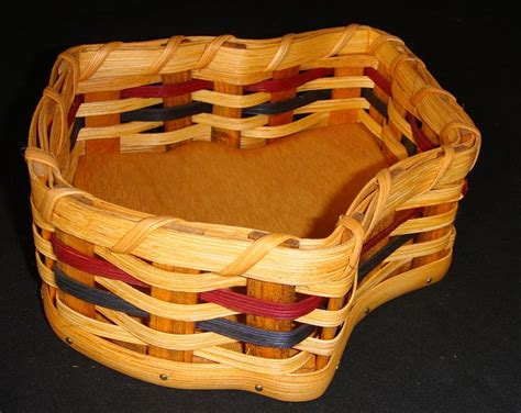 Handmade Baskets Ohio - amish handmade unique ohio state buckeye country basket