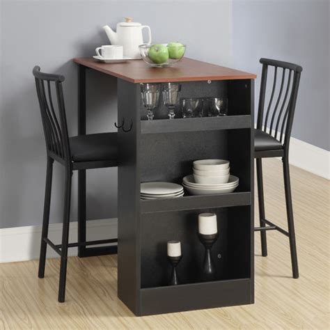 dorel living 3 counter height pub table set