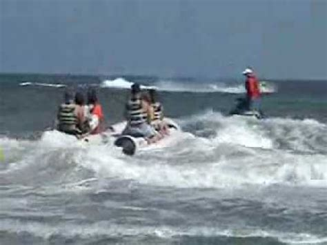banana boat rides at myrtle beach sc banana boat ride at myrtle beach youtube