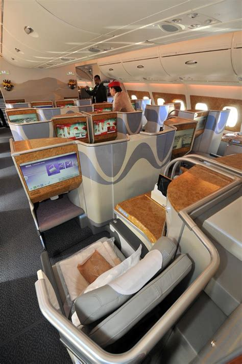 emirates business class cabin dubai air show day 3 inside the royal brunei boeing 787