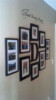 wall frames decor faith family and friends hallway wall collage ideas