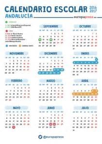 calendario escolar argentina 2017 2018 calendario escolar 2016 2017 en andaluc 237 a navidad semana