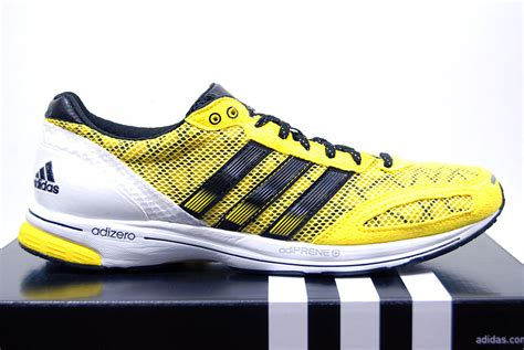 adidas adizero adios 2 yellow black trainers running