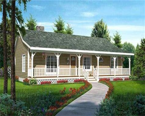 ranch home plans with front porch small bedroom styles economical ranch style house plans