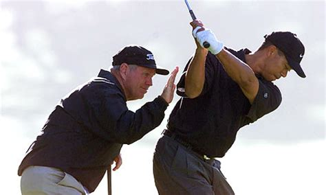 tiger swing coach tiger woods and swing coach sean foley part ways bunkers