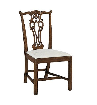 hickory chair chippendale side chair rhode island chippendale side chair from the river