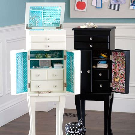 free standing armoire types of jewelry armoires zen merchandiser