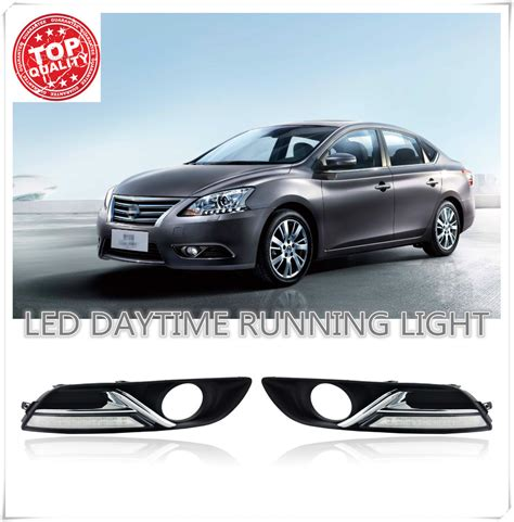 fog lights for cars led car drl daytime running lights for nissan sylphy