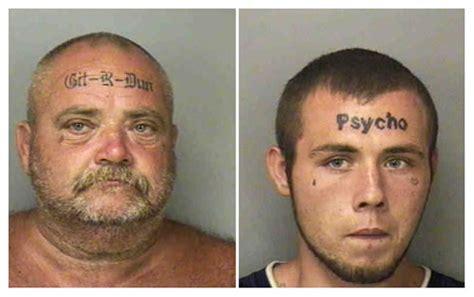 white tattoo fail father and son forehead tattoo enthusiasts neatorama