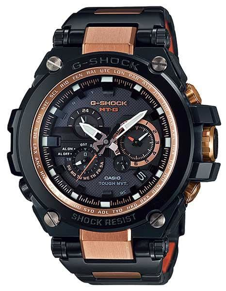Ac 8512 Rosegold Black casio g shock solar g atomic black stainless and gold ac princeton watches