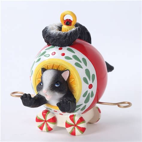 Charming Tails Ornaments - charming tails skunk ornament figurine 4027654 flossie