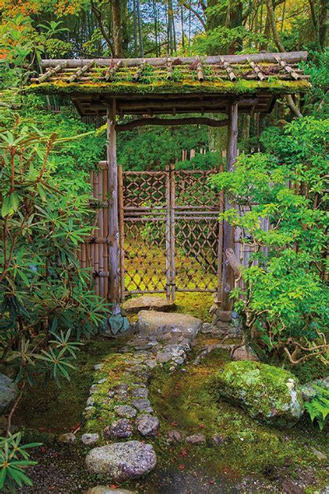 Japanese Garden Gates Ideas Landscape Architect Highlights The Distinct Of The Japanese Garden