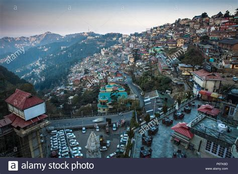 The Terrace Shimla India Asia himachal pradesh stock photos himachal pradesh stock