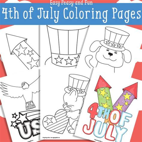 easy peasy coloring pages coloring pages fourth of july and coloring on pinterest