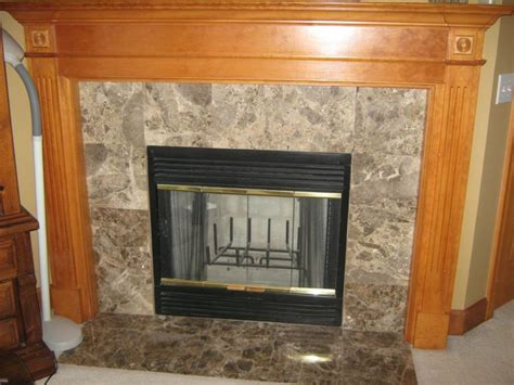 Ceramic Tile Fireplace by Tile Fireplaces This Brown Ceramic Tile Fireplace G