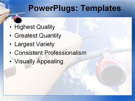 airplane ppt template airplane powerpoint template