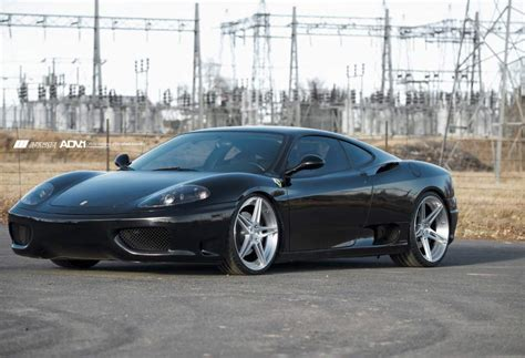 Ferrari 360 Modena Modified by Ferrari 360 Modena Custom Wheels Adv 1 05 Mv2 20x9 0 Et