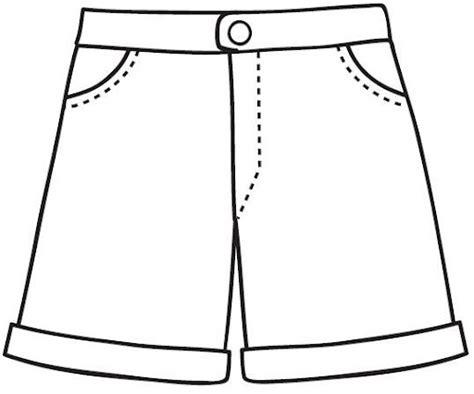 imagenes para colorear ropa dibujos de ropa de verano para colorear imagui
