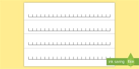 blank number line 20 new blank 0 to 20 number line maths numeracy counting