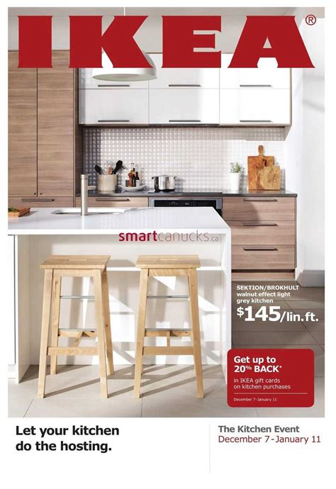 ikea kitchen event ikea the kitchen event flyer december 7 to january 11