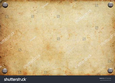 Bor Rivet notice board rivets stock photo 377442298