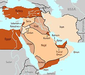 middle east map in 1920 history 1700 fall 2007 mackay