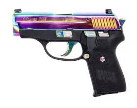 colored handguns new sig sauer p239 rainbow titanium the about guns