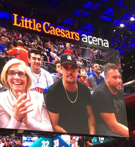 eminem detroit pistons eminem kid rock and other firsts from pistons opener at