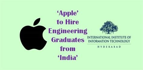 Apple Mba Recruiting by Apple To Hire Engineering Graduates From India Career