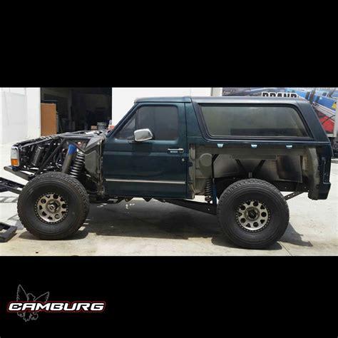 prerunner bronco ford bronco 4wd 92 96 4 link kit camburg engineering