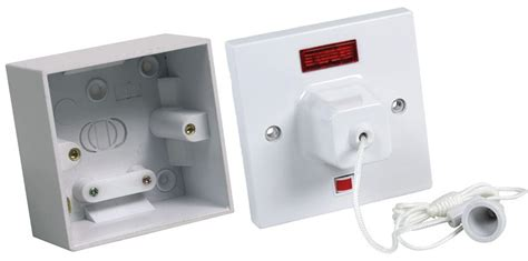 Shower Switch by Ced Shower Pull Switch With Mounting Box Cedcls45n
