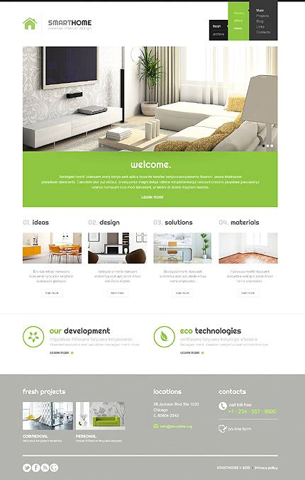 home design wordpress theme 40 interior design wordpress themes that will boost your