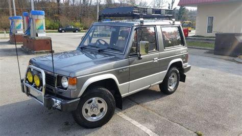hayes auto repair manual 1988 mitsubishi pajero interior lighting 1988 mitsubishi pajero montero low mileage turbo diesel 4d56t mk1 gen 1