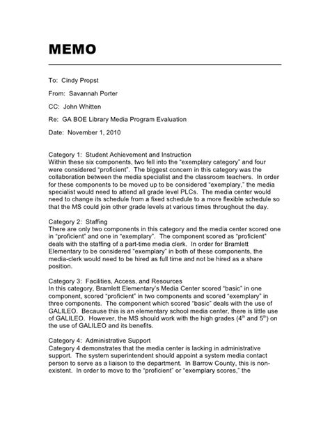 Memo Exles To Teachers Memo To Principal