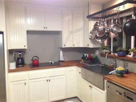 Glass Tile Kitchen Backsplash Pictures backsplash for cherry butcher block counters